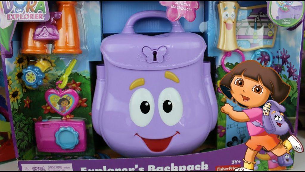 mochila de dora