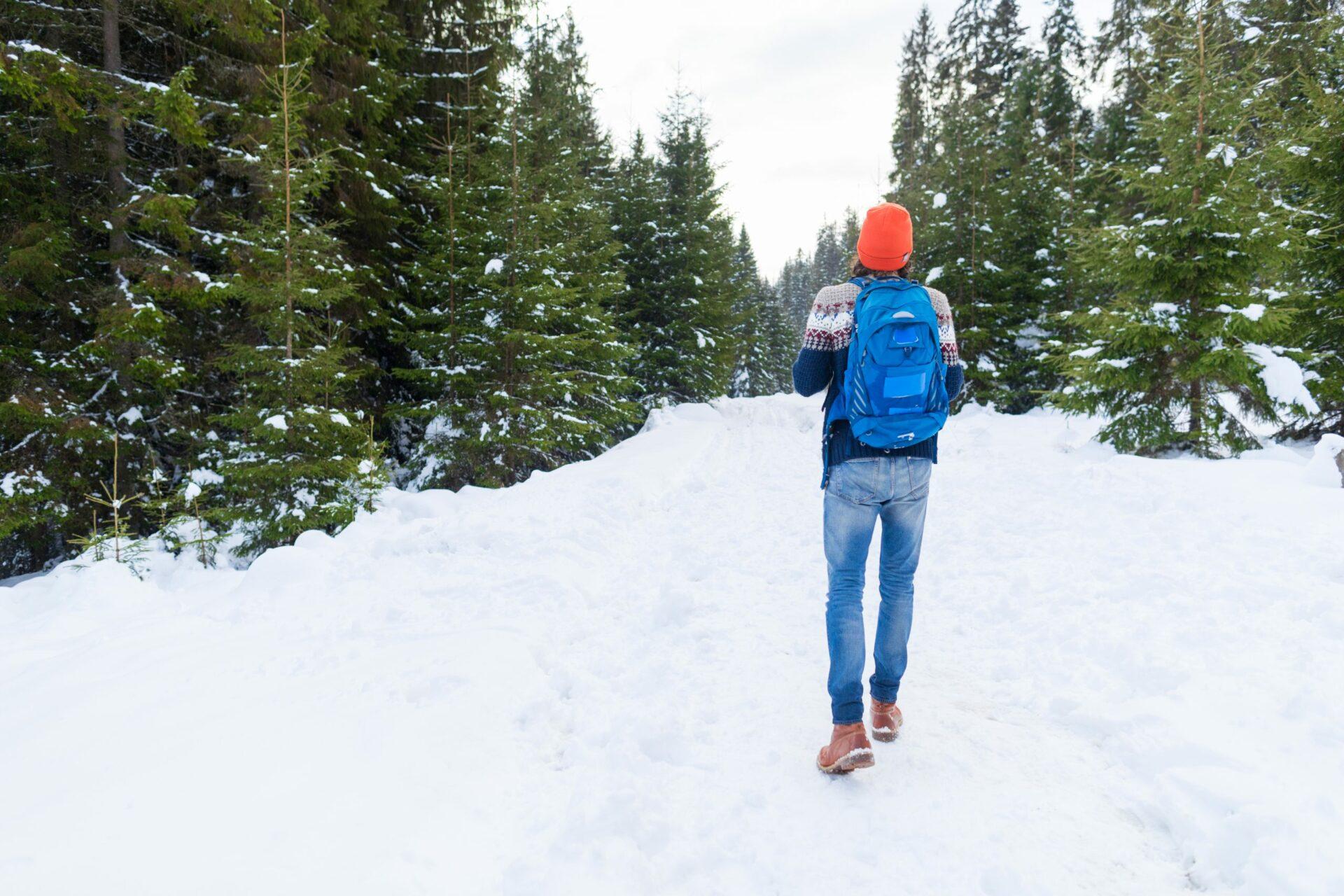 viaje frio mochila
